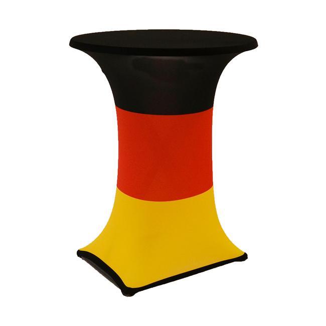 """Stehtischhusse """"Samba"""" Motiv: Deutschland, Ø 850 mm"""