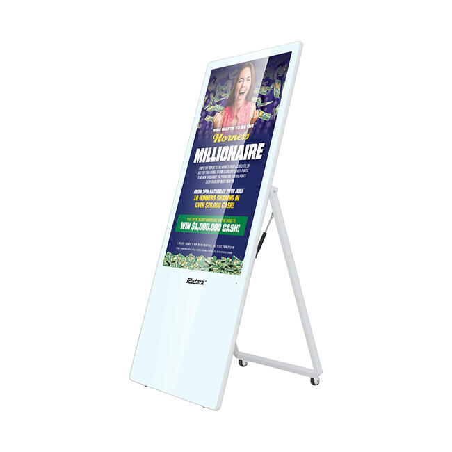 "Digitaler Kundenstopper ""A-Board II"""