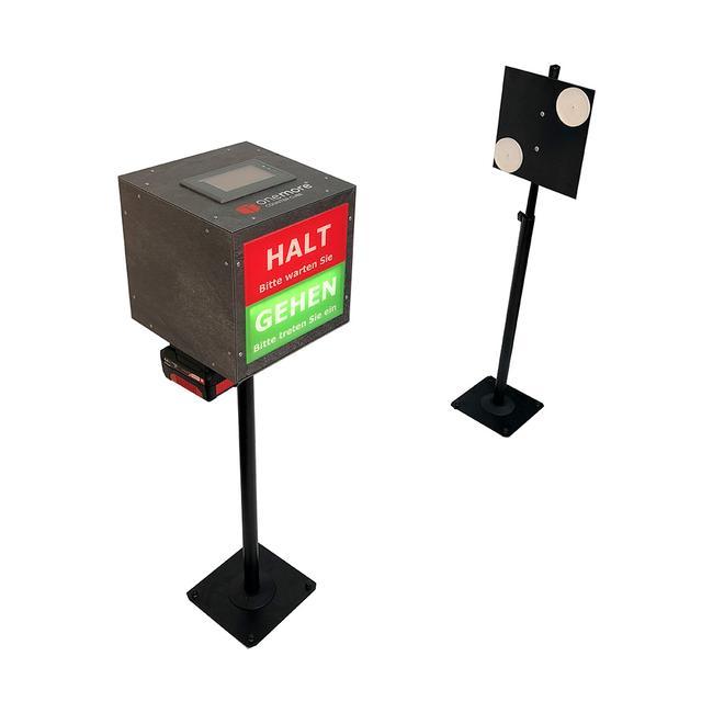 Zutrittskontrollsystem Counter Cube