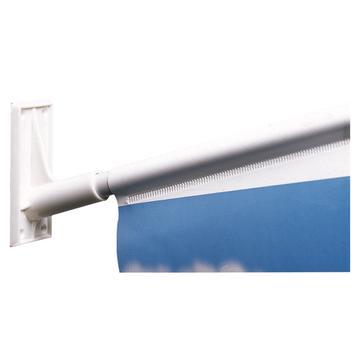 Fahnenhalter aus Kunststoff, ø 18,5 mm mit Schaumklebeband
