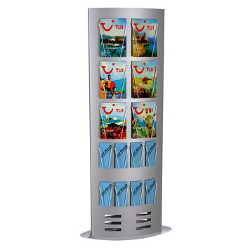 """Infosäule """"Tec-Art-Tower"""" - Grundgestell"""