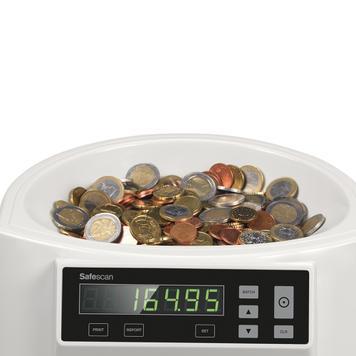 Safescan 1250 Münzzähler/Münzsortierer