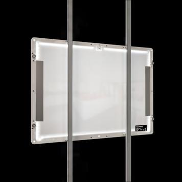 """LED Magnetsystem """"TS"""" Bodenständer"""