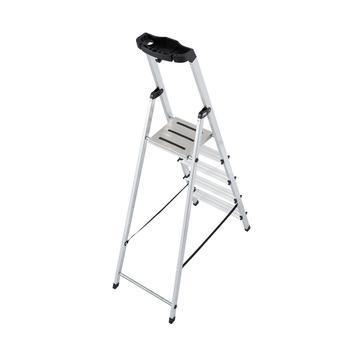 Stufen-Stehleiter (Alu)