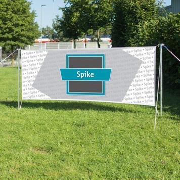 """Banner für Spannset """"Spike"""""""