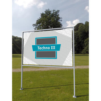 "Werbesystem Techno III ""Betonfuß"""