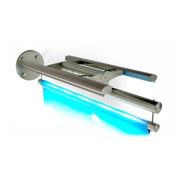 "Bannerhalter INOX ""Ausleger LED-Light"""