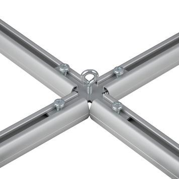 Kreuzverbindung aus Metall