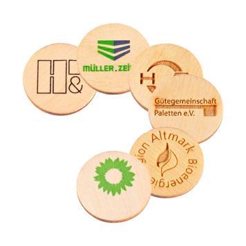 """Einkaufswagenchip """"Green Coin"""""""