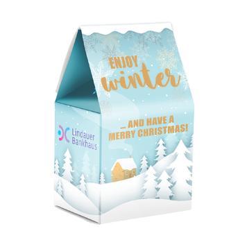 Lindt Weihnachtsstandbodenbox