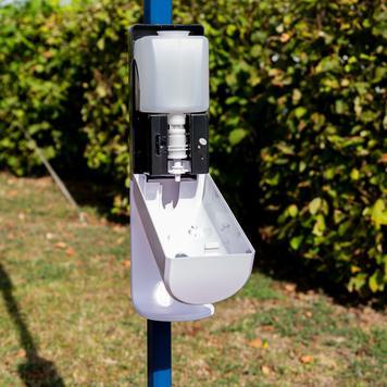 Sensor-Wall - Nachrüstset Desinfektionsspender für Zelte und Rohre