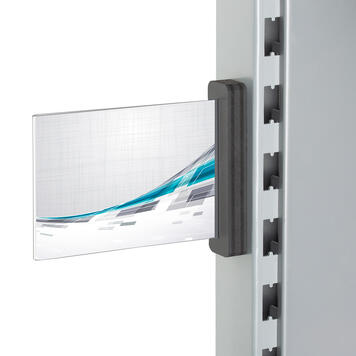 Plakathalter mit Magnet