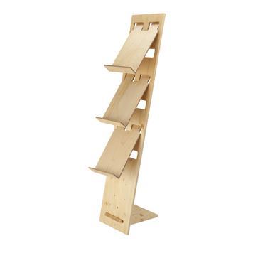 "Prospektständer ""H2"" aus Holz"
