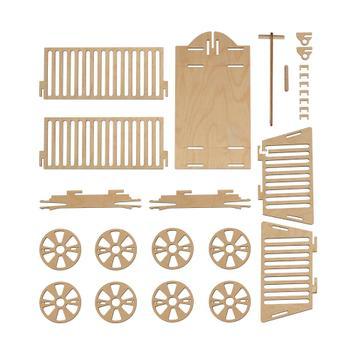Geschenkverpackung Leiterwagen