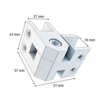 Winkel-Verbinder 10-16 mm