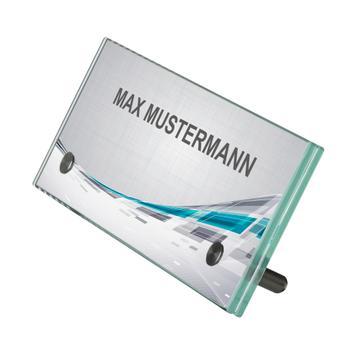 ESG Tischaufsteller 200 x 70 mm