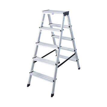 Stufen-Stehleiter zweiseitig