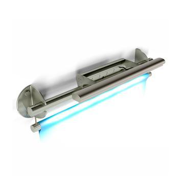 "Bannerhalter INOX ""Wall LED-Light"""