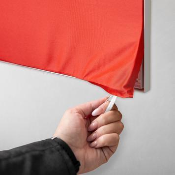 Stretchframe inkl. SALE-Banner