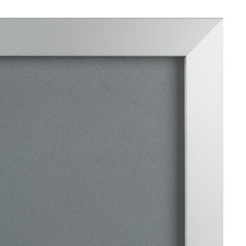 """Klapprahmen """"Straight"""", 32 mm Profil, silber eloxiert, Gehrungsecken"""