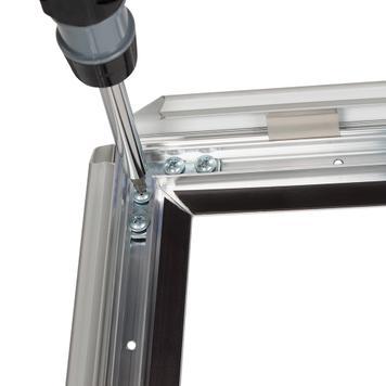 zerlegbarer Klapprahmen aus Aluminium