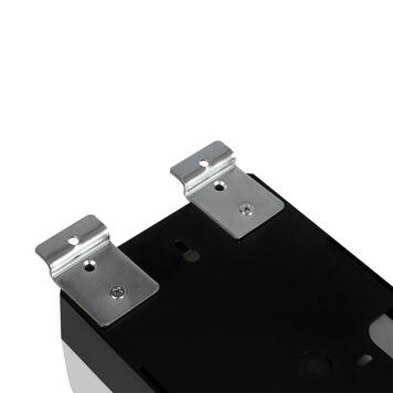 Sensor-Wall - Nachrüstset Desinfektionsspender zur Einhängung in der Lamellenwand FlexiSlot®