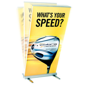 "Outdoor Roll Up Banner ""Double-Out"""