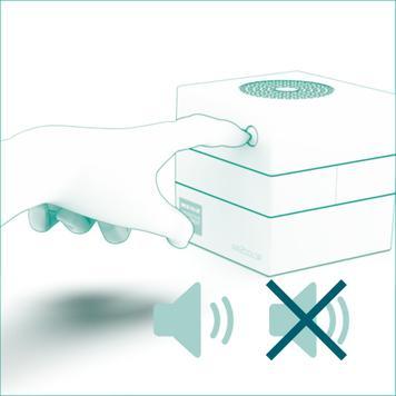 "CO2 Messgerät ""Air2Color"" mit Ampel"