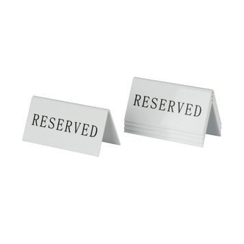 Reserviert Schild Tischaufsteller