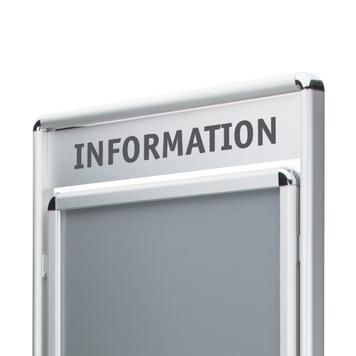 """Plakatständer """"Info"""""""