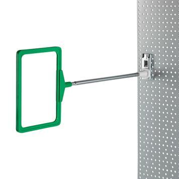 Regalstopper für Lochwände (ohne Rahmen)