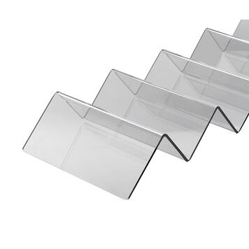Snackwelle aus Acrylglas