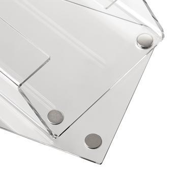 Prospekthänger für Digitaldruckbanner, magnetisch