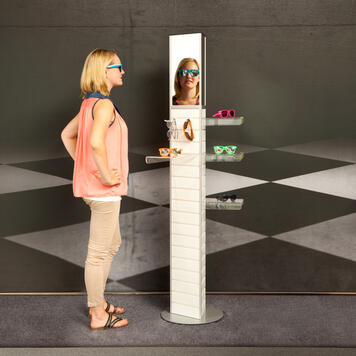 "FlexiSlot®-Tower ""Triflex Mirror"""