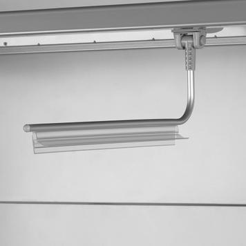 magnetischer Bannerhalter mit Klemmprofil