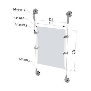 "Seilsystemset ""Wand/Wand"" bzw. ""Decke/Boden"""