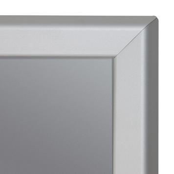 Klapprahmen aus Aluminium mit Laternenhalterung